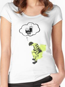 Taste of your own medicine Women's Fitted Scoop T-Shirt
