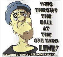 Who Throws The Ball At The One Yard Line? Poster