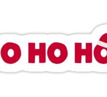 Santa Claus Ho Ho Ho Sticker