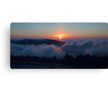 Cadillac Mountain Sunset Canvas Print