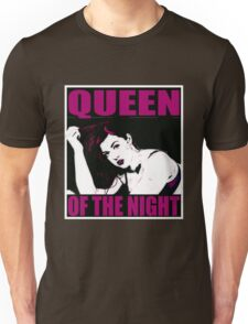 CREATURES OF THE NIGHT-QUEEN OF THE NIGHT Unisex T-Shirt