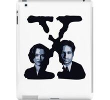 X-FILES - Scully & Mulder iPad Case/Skin