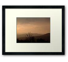 Dawn over Cult Hill Framed Print