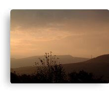 Dawn over Cult Hill Canvas Print