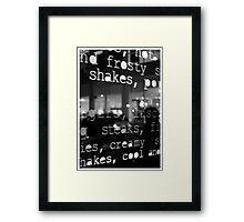 NY 11 Framed Print