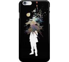 Nebula Head - Abstract Space Grafitti iPhone Case/Skin
