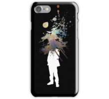 Nebula Head - Abstract Space Grafitti iPhone Case/Skin