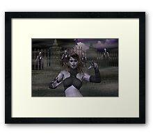 Vampire Nights Framed Print