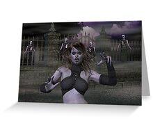 Vampire Nights Greeting Card