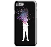 Space Galaxy Head – Abstract Grafitti iPhone Case/Skin
