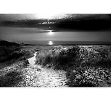 St Ouen Sand Dunes Photographic Print