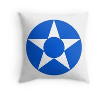 Roundel of the Guatemalan Air Force Throw Pillow
