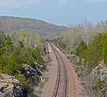 Railroad Tracks to Ironton by Susan S. Kline
