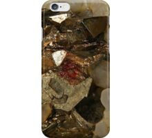 Chalcopyrite with Triple Twinned Face iPhone Case/Skin