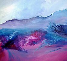 Pink Landscape by molliekathleen