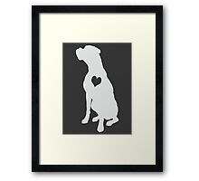 Adore Boxers Framed Print