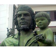 Che Guevara statute Photographic Print