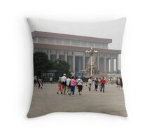 Forbidden City in Tianamen Square Throw Pillow