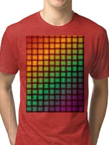 Weave World (rainbow/pride colors) Tri-blend T-Shirt