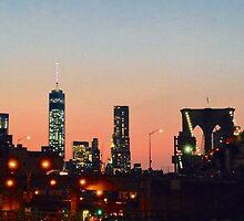 Brooklyn Heights Dusk by njordphoto