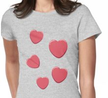 Lee's Love Hearts of Youth! Womens Fitted T-Shirt