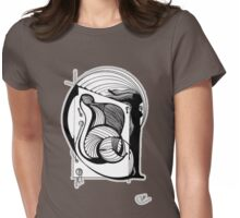 Abstract Moments 37 Womens Fitted T-Shirt