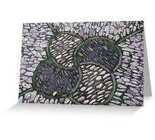 Stonework, Crab Apple Design Greeting Card