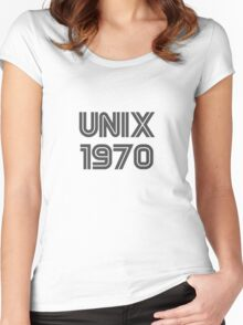 Unix 1970 Women's Fitted Scoop T-Shirt