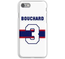 Butch Bouchard #3 - 1940s white jersey iPhone Case/Skin