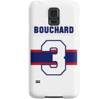 Butch Bouchard #3 - 1940s white jersey Samsung Galaxy Case/Skin