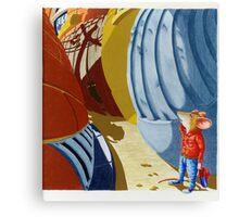 Lost (Water-colour on cold-press illust Board) Canvas Print