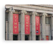 Jimmy Kimmel Live Canvas Print