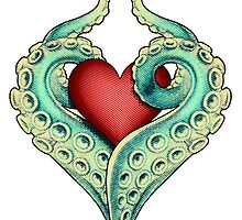 Tentacle Love by TerryLightfoot