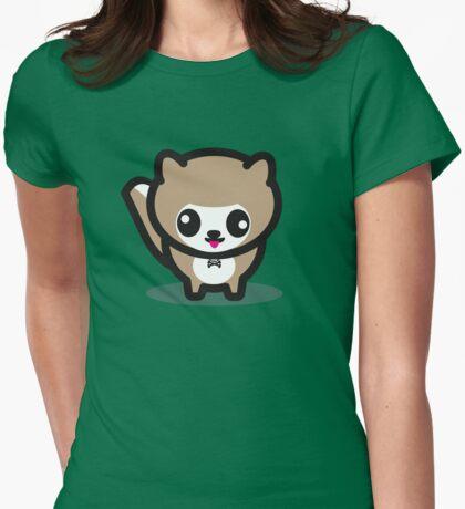Pom Pom Womens Fitted T-Shirt