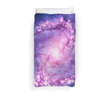 Cosmic vacuum cleaner (Spiral Galaxy M83) Duvet Cover