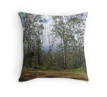 Tree Scape Throw Pillow