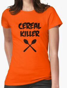 CEREAL KILLER (Muesli / cornflakes) Womens Fitted T-Shirt