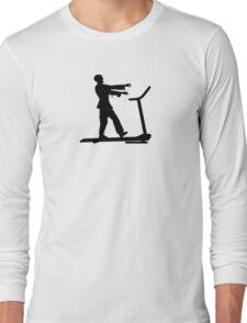 Zombie walking in the dead! Long Sleeve T-Shirt