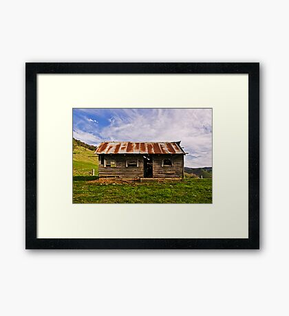 Roadside Ruins Framed Print