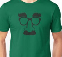 Groucho mask - nerd glasses Unisex T-Shirt
