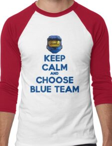 Halo Keep Calm Men's Baseball ¾ T-Shirt