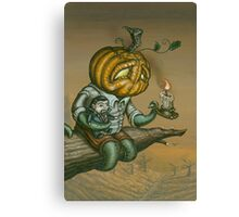 Pumpkid Canvas Print
