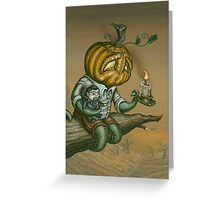 Pumpkid Greeting Card