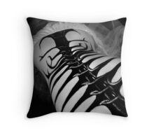 Vertebrae Throw Pillow