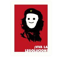 Viva La Legolucion Art Print