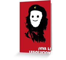Viva La Legolucion Greeting Card