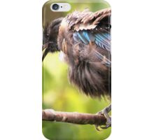 Tui......OK,  what comedian stole my other leg......? iPhone Case/Skin