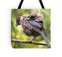 Tui......OK,  what comedian stole my other leg......? Tote Bag