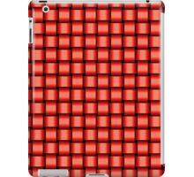 Weave World (red) iPad Case/Skin
