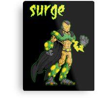 super villains: surge... Metal Print